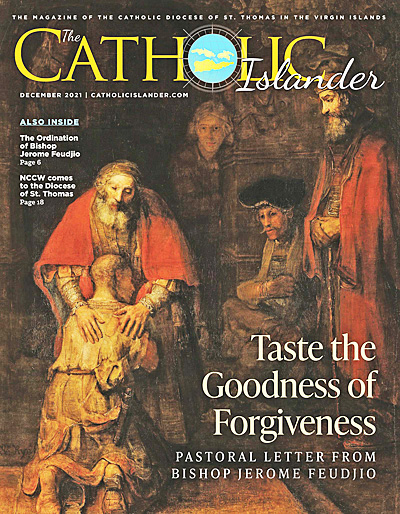 May 2013 Catholic Islander cover