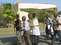 St. Joseph Church Corpus Christi Procession 2015